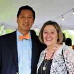 UC president Santa Ono and event chair Nancy Eigel-Miller