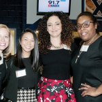 Deren Worrell, vice president of Trust Services & Trust Counsel, with Irene Tsai, Trinity Garrett and Aliya Riddle of Johnson Investment Counsel