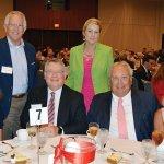 66 -- Fatherhood Luncheon 6 – Taylor and Jacob Uehlin, Lauren Hoffman and Nick Tepe