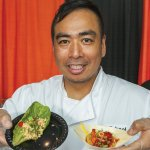 Host chef Michael Ly of the Pacific Kitchen