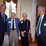 Planned Giving Director Jeff Taylor, John Steele Sr., Ellen Rieveschl and Ed Diller