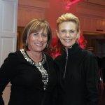 Board members Barbara Gehrig and Dawn Schiff