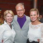 Opera Board co-chair Cathy Crain, Thom Dreeze, and Kinsley Slife