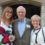 Claudia Feldhaus, Joe Feldhaus and Marcia Spaeth, emeritus board member