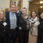 Nina Paul, Ohio Secretary of State Jon Husted, Barbara Gould, Sian Cotton, Wendy Yip
