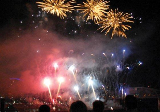 Gateway fireworks party