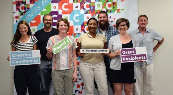 The winners of Creative Community Grants.