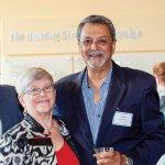Carol Aquino and former staffer Pat Patel