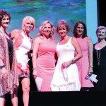 Yvette Johnson-Hegge of the YWCA, award winner Allison Banzhaf, Litsa Spanos, award winners Lisa Schuster, Karen Rolfes and Trish Weeks