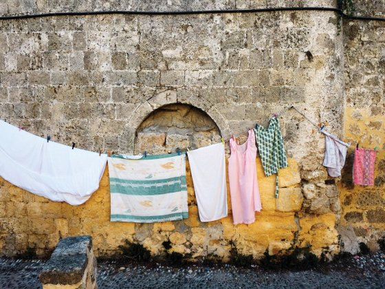"""""""Greek Laundry"""" by Gina Weathersby"""