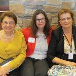Honoree Lilly Narusevich, Ann Sutton Burke and Luda Gikhman
