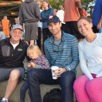 Bill Keating, son Jack Keating, daughter Caroline Keating and Jack's daughter Annette