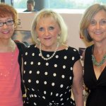 Holly Dorna, CILO executive director Lin Laing and development director Debbie Moorehous