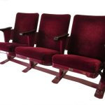 Trio of theater seats: $275