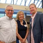 Hamilton County Juvenile Court Magistrate Paul DeMott and his wife, Janet, with ProKids board member Chip Turner