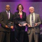 Inspiration in Cancer Care finalists Dr. Brian Turpin, Dr. Rajaram Nagarajan, Dr. Elyse Lower, Dr. David Waterhouse, Dr. Randy Broun