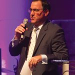 Auctioneer Ed Crotty, CSC board member
