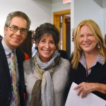 Rabbi Jonathan Cohen, dean of the Cincinnati campus, HUC-JIR; Abby Schwartz, director, Cincinnati Skirball Museum; and Mary Ellen Goecke, executive director, FotoFocus
