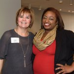 Lora Damron of Prevent Blindness Ohio and Ahmyah Smith of Public Allies