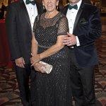 Jimmy Musuraca-Messer and Joyce Messer with Ryan Messer, gala chair