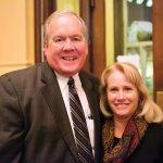 Bill Schumacker of Park National Bank and Lynn Schumacker