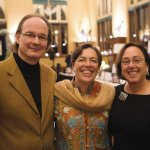 Ingo Kiesewetter and Eleonora Fusco with Barb Lichtenstein, a Pets In Need board member