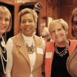 Myrita Craig, YMCA; Judith Warren, Health Care Access Now; Mary Miller, JANCOA; and Alicia Tidwell