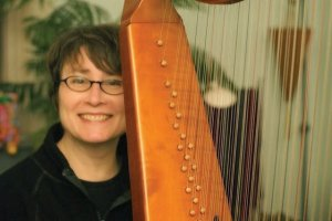 Harpist Elizabeth Motter wraps up the Cincinnati Early Music Festival at Christ Church Cathedral, Tuesday, Music Live with Lunch.