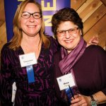 Carolyn Bieser and Rose Palmieri