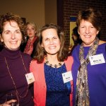 Molly Fitzmaurice, president Donna Broderick and Mary Jo Blankemeyer