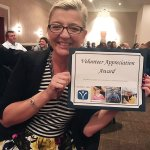 Honoree Heather Frye, Volunteer Appreciation Award
