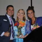 Scott Wingate, Dr. Gwendolyn Steffen and Sarah Brothers