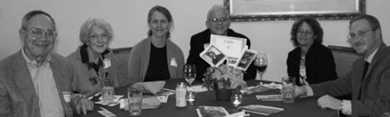 Don and Jane Gardner, Anne and Joe Wilker, PLAN honoree Janet Pecquet and Thomas Schaefe