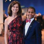 Cincinnati Children's board chair-elect Jane Portman and Champion Antonio
