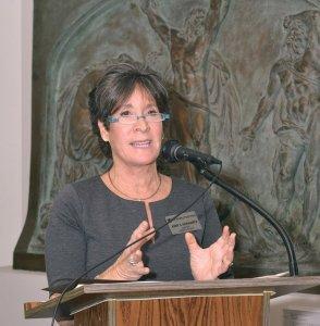 Abby Schwartz, Skirball Museum director