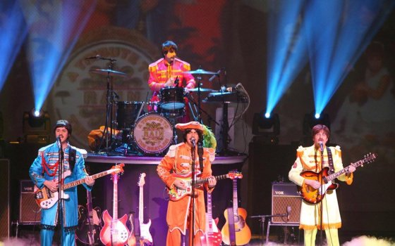 Sgt. Pepper's in concert at The Aronoff