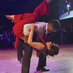Dance champion Rohan Hemani and Doreen Beatrice