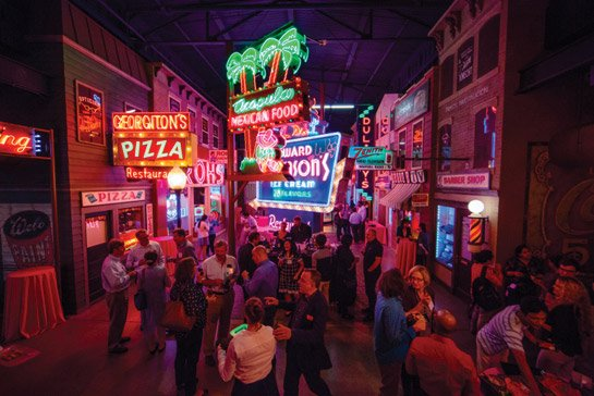 American Sign Museum, site of Friday cocktail party