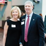 Janel Carroll of Truepoint Wealth Counsel, an ArtWorks trustee, and Ric Booth, general manager of Duke Energy Convention Center