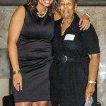 Rebecca Hammoor of Beech Acres, and 25-year honoree Ada Finley