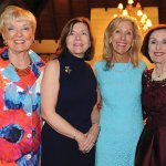 Marsha Haberer, honorary chair; Jeane Elliott and Cynthia Muhlhauser, co-chairs; and special guest Mary Margaret Rochford