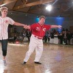 Talent champion Teddy Kremer and Desiree' Mainous