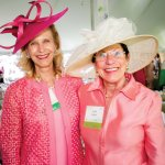 Eileen Barrett and foundation director Trudi Fullen