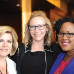 Jennifer Reynolds, DanoneWave; Annette Lorenz, Sargento; and Sarah Sapp, NEW National