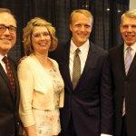 Bernie McCay, Amy and Trey Devey and VNA board chair Doug Bolton