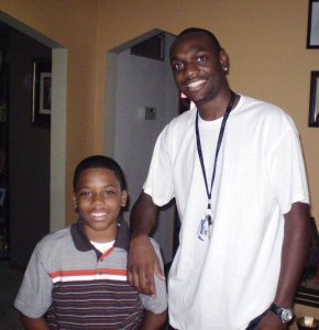 The first meeting for Terrell and Terence on Aug. 18, 2009