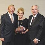 Lou Holtz, Sue Butler and Bill Butler