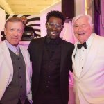 Barry Mulholland, Darnell Pierre Benjamin and Michael Haney