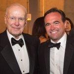Mayor John Cranley and Otto M. Budig Jr.