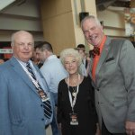 Mike and Nancy Brown with Freestore Foodbank CEO Kurt Reiber